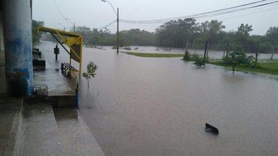 Lluvia afectó a todos los distritos de Ñeembucú