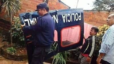 Insólito: Cae puerta de helicóptero de la Policía