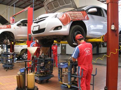 BNF reparará sus vehículos de la marca Toyota