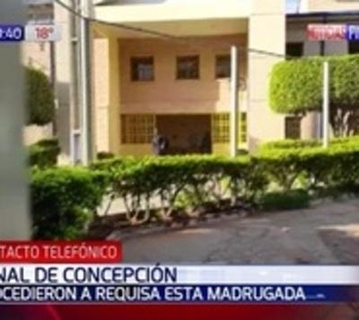"""Incautan """"arsenal"""" durante requisa en cárcel de Concepción"""