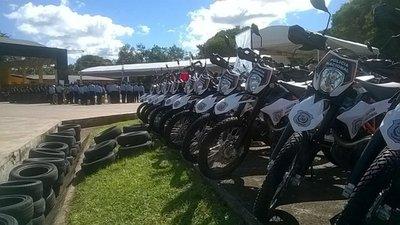 """Entregan 150 motos más para la Policía """"antimotochorros"""""""