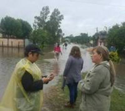 Diputados aprueban declarar en emergencia a Ñeembucú e Itapúa