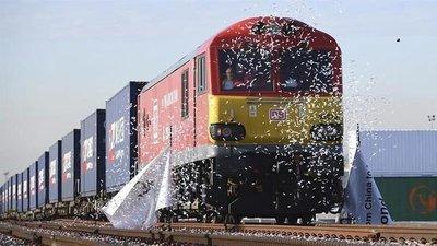 Llega a China el primer tren de mercancías