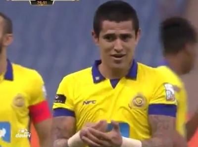 Ayala anotó el gol de la victoria de su equipo