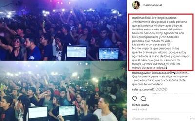 """Marilina Bogado """"Personas Malas Quieran Tirarme Por El Piso"""""""