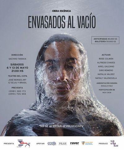 """""""Envasados al vacío"""", obra escénica en el teatro del CCPA"""
