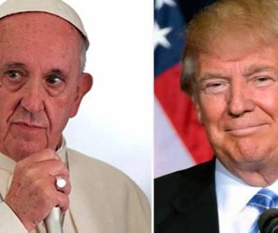 Papa Francisco recibirá a Donald Trump en el Vaticano
