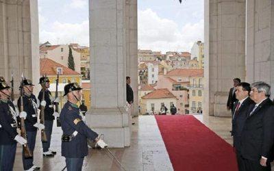 Presidente Cartes inicia agenda oficial en Portugal
