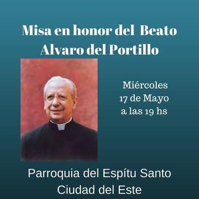 Hoy, misa en honor al Beato Álvaro de Portillo