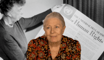 Redgrave lleva a Cannes su intensa denuncia de la crisis de los refugiados