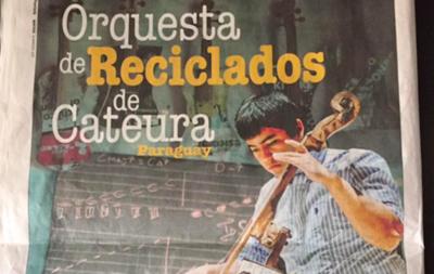 La Orquesta de Instrumentos de Cateura comienza su gira por Italia
