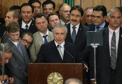 Aliados del gobierno brasileño están evaluando los escenarios posibles