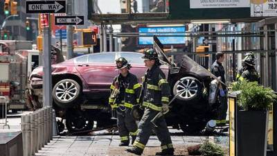 """El conductor del atropello en Times Square dice que """"oía voces"""" y """"quería matar"""""""