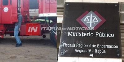FISCALÍA INVESTIGA MUERTE DE CAMIONERO EN PUERTO TROCIUK