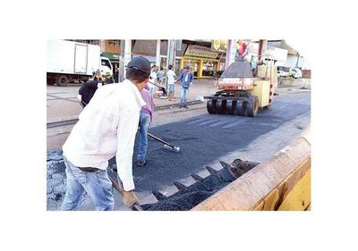 Inician reparación de calles en CDE