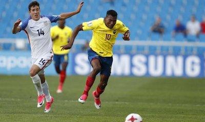 Ecuador empata ante Estados Unidos