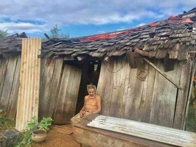 Abue tendrá casita nueva gracias a solidarios amis