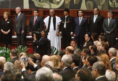 HC desea augurios a nuevo presidente de Ecuador