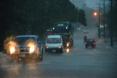 Jueves con precipitaciones y tormentas