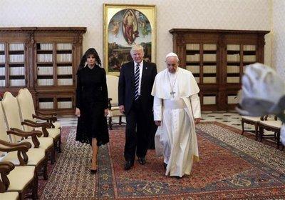 Trump dice que el Papa le pareció fantástico