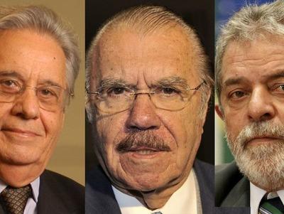 Expresidentes negocian salida de Temer