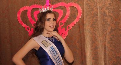 """Coronaron a la nueva """"Miss Teen Nueva Esperanza"""""""