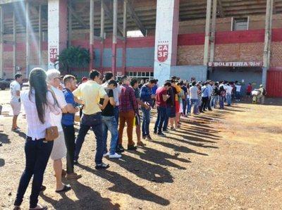 En el primer día de venta de entradas, ya se agotaron en Trinidad