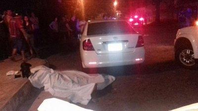 Asesinan a tiros a un hombre en San Lorenzo