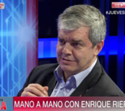 "Peña vencerá a ""Marito"", vaticina Riera"