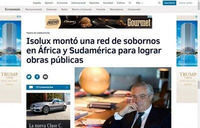 Director de Isolux, envuelto en gran escándalo en Chile