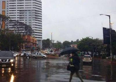 Día lluvioso y fresco