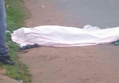 Conductor ebrio mata a una mujer