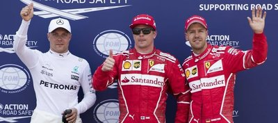 Kimi Raikkonen vuelve a pole nueve años después