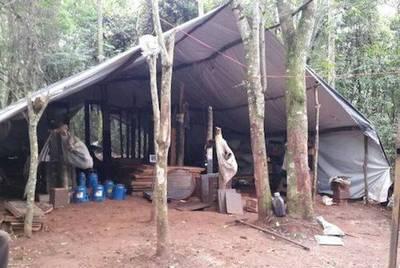 Desmantelan campamento narco en Capitán Bado