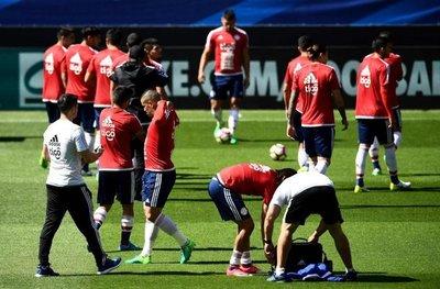 Paraguay inspecciona el estadio de Rennes
