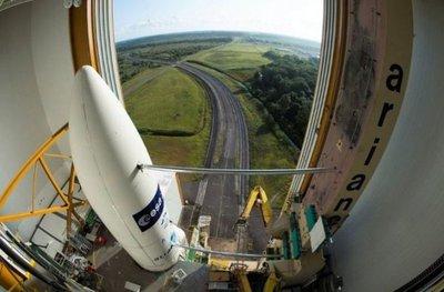Un Ariane 5 logra nuevo récord de carga