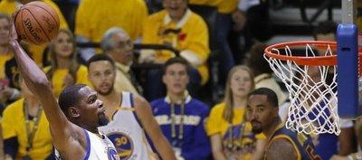 Sin compasión: Durant y sus Warriors desmoralizan a los Cavaliers