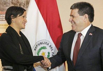 Giménez, elegida en Hacienda
