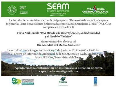 Hoy se inicia la Feria Ambiental en la SEAM