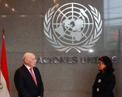 ONU inauguró sus oficinas en Asunción
