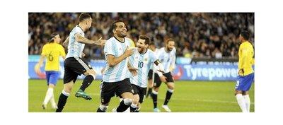 Argentina vence a Brasil en el inicio de la Era Sampaoli