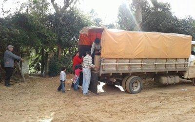 Tras dura travesía, la ayuda llegó a Cerrito