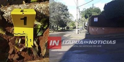 ALLANAN VIVIENDA POR CASO ROBO A ESPOSA DE CAMBISTA