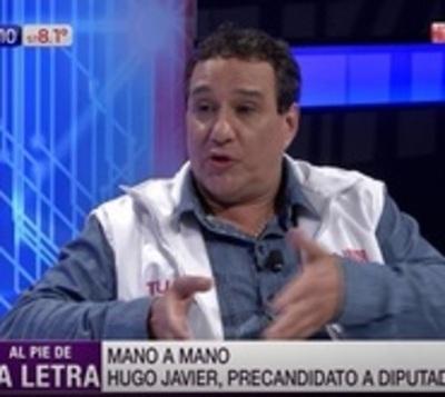 """El Hugo Javier político: """"No soy solo una figura popular"""""""