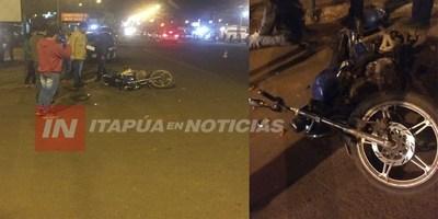 ACCIDENTE CON SUERTE EN TOMÁS ROMERO PEREIRA