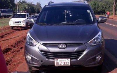 """""""Piratas del asfalto"""" roban 300.000 dólares tras asalto a tiros en Ruta 7"""