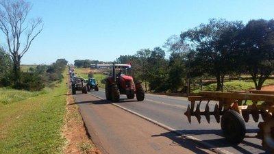 Los tractores retroceden