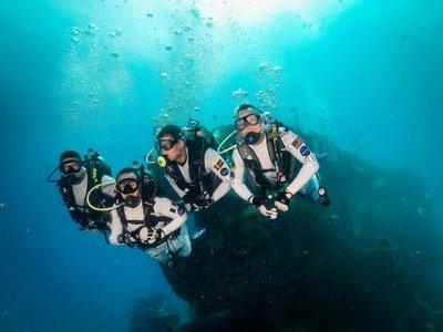 Las misiones espaciales también se preparan a 20 metros bajo el mar