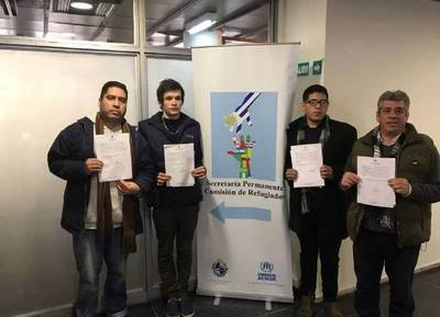 Cuatro liberales acusados de armar bombas molotov y quemar el Congreso piden asilo en Uruguay