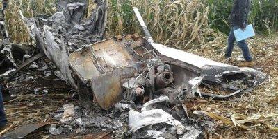 Narcoavioneta estrellada figuraba como taxi aéreo